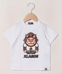 サングラスファニーゴリラプリントTシャツ