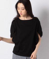 変形ボリューム袖Tシャツ
