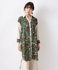 【ハトの庭】シャツワンピース