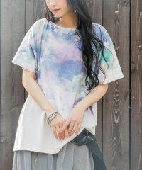 『nOr幻想的水彩Tシャツ』