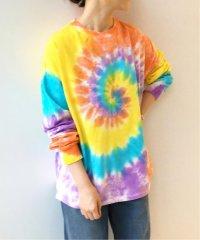 【Lepidos/レピドス】 TIEDYE  SLV ロングTシャツ