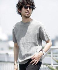 《WEB限定》バンブーブレンドクルーネックニットTシャツ