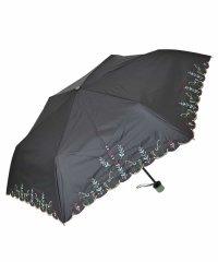 【晴雨兼用】木馬モチーフ刺繍折りたたみ傘
