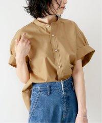 パールボタンタックスリーブシャツ◆