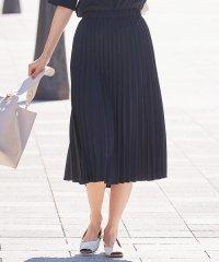 【洗える】リネンライクベーシック スカート