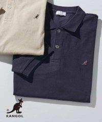 KANGOL/カンゴール 刺繍ワイドシルエットポロシャツ[WEB限定サイズ]