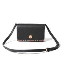 【Burberry】2020春夏新作 Small Leather & Vintage Check Crossbody Bag