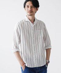 FLOW LINEN カッタウェイシャツ バリエーション