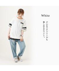 Simplify シンプリファイ 裾フェイクレイヤードTシャツ F91941NM
