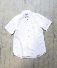 BEAMS / ブロード マルチカラー ボタンダウン 半袖シャツ