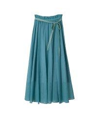 綿麻スラブローンロングスカート