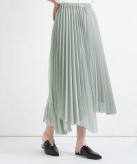 [RADIATE] イレギュラーヘム プリーツスカート