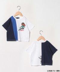 【仮面ライダー】配色切替半袖Tシャツ