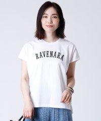 """[MICA&DEAL] 【手洗い可】""""RAVENARA""""ロゴカットソー"""