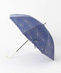 【晴雨兼用】長傘/マーガレット裾刺繍