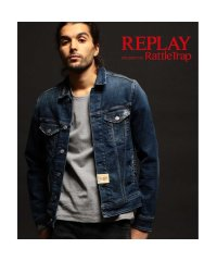 REPLAY×RATTLE TRAP 【AGED 10 YEARS】 Denim Jacket