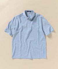 SC: COOLMAX(R) ノルマンディーリネン カノコ ボタンダウン ポロシャツ