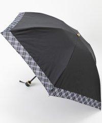パーシャルマイクロチェック折りたたみ傘