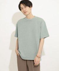 ヘビーウエイトフェードカラーTシャツ(5分袖)