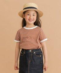 FORK&SPOON ボーダーワイドTシャツ(KIDS)