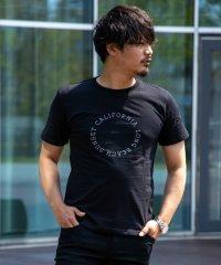 クルーネック サークルロゴプリント 半袖 Tシャツ