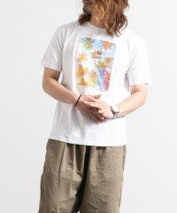 クルーネック サーフボード ロゴプリント 半袖 Tシャツ