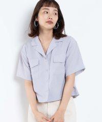 【セットアップ対応商品】リネンタッチオープンカラーシャツ