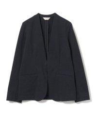 Demi-Luxe BEAMS / サッカーストライプ カラーレス ジャケット