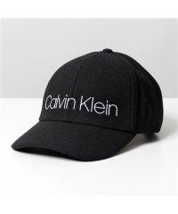 【Calvin Klein(カルバンクライン)】K50K505025 BDS MELTON CAP メルトン ロゴ ベースボールキャップ 帽子 キャップ 49-