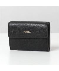 【Furla(フルラ)】1033355 BABYLON S TRI FOLD 三つ折り財布 ミニ財布 豆財布 ONYX レディース