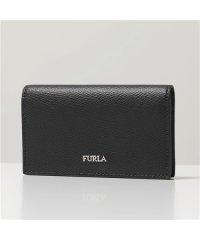 【Furla(フルラ)】Furla MAN フルラ PT65 ATT O60/NERO MARTE BUSINESS CARD CASE レザー カードケース