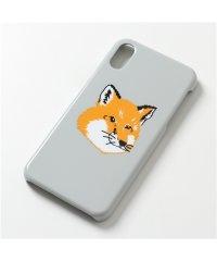 【MAISON KITSUNE(メゾンキツネ)】EU05602AP0001 FOX HEAD iphoneX/XS専用ケース スマホ カバー LG/LIGHT-