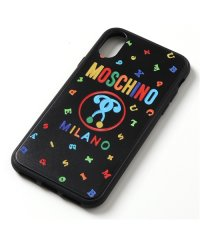 【MOSCHINO(モスキーノ)】A7903 8301 iPhoneX/XS専用ケース スマホ スマートフォン カバー 2555 レディース