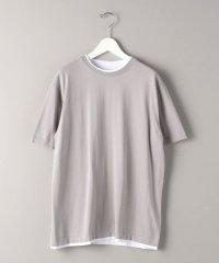 BY レイヤード ガスコットンニット Tシャツ