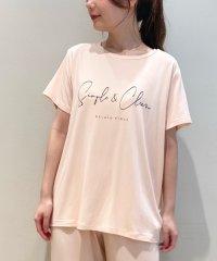 シンプルレーヨンロゴTシャツ