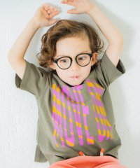 恐竜バックプリント半袖Tシャツ
