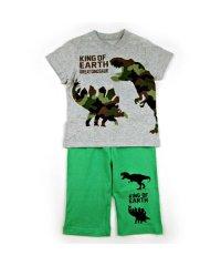 半袖ルームウェア 恐竜迷彩柄