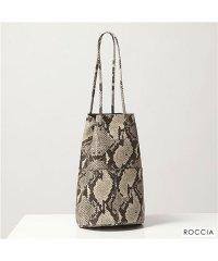 【MARCO MASI(マルコマージ)】3013 レザー 巾着 ハンドバッグ ショルダーバッグ 鞄 SLANG-ROCCIA/パイソン レディース