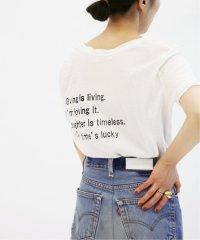 40/- プリントTシャツ◆
