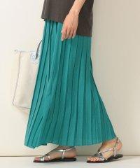 SHIPS any:ソリッドプリーツスカート