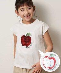 [100-130]トゥインクルスパンコール半袖Tシャツ[WEB限定サイズ]