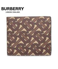 バーバリー BURBERRY 財布 二つ折り メンズ CC BILL COIN ブラウン 8022913