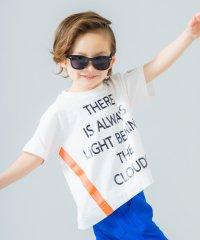 ネオンライン半袖ロゴTシャツ