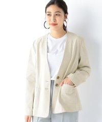 Demi-Luxe BEAMS / カラーレス 2ボタンジャケット