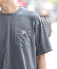 ピグメントポケットワンポイントTシャツ