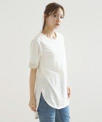 [soeur7] 異素材使いTシャツ