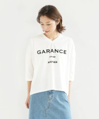 "[soeur7] 【手洗い可】GARANCE"" フロッキーロゴTシャツ"""
