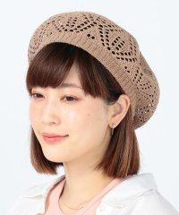 Ray BEAMS / クロシェ編み ベレー帽
