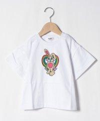 ファニーバニープリントTシャツ