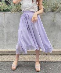 エアリーギャザーミモレスカート